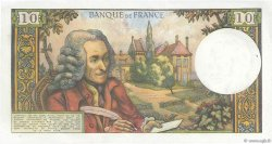 10 Francs VOLTAIRE FRANCE  1967 F.62.28 pr.SUP