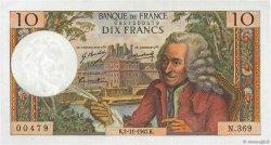 10 Francs VOLTAIRE FRANCE  1967 F.62.29 SUP