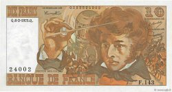 10 Francs BERLIOZ FRANCE  1975 F.63.08 TTB