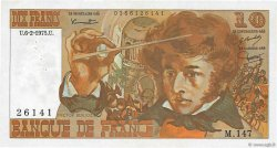 10 Francs BERLIOZ FRANCE  1975 F.63.08 SUP+