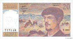 20 Francs DEBUSSY FRANCE  1980 F.66.01 NEUF