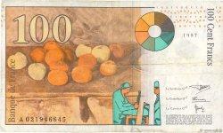 100 Francs CÉZANNE FRANCE  1997 F.74.01 TB
