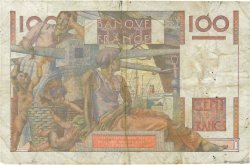 100 Francs JEUNE PAYSAN FRANCE  1953 F.28.38 TB