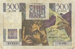500 Francs CHATEAUBRIAND FRANCE  1948 F.34.08 B+