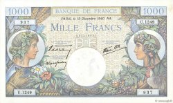 1000 Francs COMMERCE ET INDUSTRIE FRANCE  1940 F.39.03 SPL