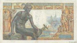 1000 Francs DÉESSE DÉMÉTER FRANCE  1943 F.40.28 TB+