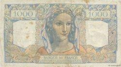 1000 Francs MINERVE ET HERCULE FRANCE  1945 F.41.04 B+