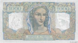1000 Francs MINERVE ET HERCULE FRANCE  1949 F.41.30 SUP