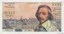 1000 Francs RICHELIEU FRANCE  1956 F.42.18 TTB+