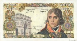 10000 Francs BONAPARTE FRANCE  1956 F.51.03 TTB
