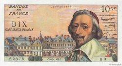 10 Nouveaux Francs RICHELIEU FRANCE  1959 F.57.01 pr.SPL