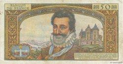 50 Nouveaux Francs HENRI IV FRANCE  1959 F.58.02 pr.TB