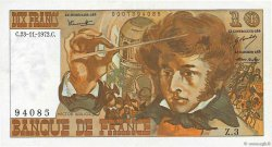 10 Francs BERLIOZ FRANCE  1972 F.63.01 pr.SUP