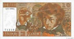 10 Francs BERLIOZ FRANCE  1976 F.63.16a SUP