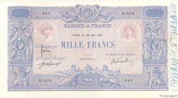 1000 Francs BLEU ET ROSE FRANCE  1917 F.36.31 pr.SUP