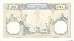 1000 Francs CÉRÈS ET MERCURE type modifié FRANCE  1937 F.38.05 SUP