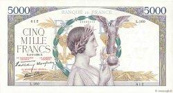5000 Francs VICTOIRE Impression à plat FRANCE  1939 F.46.05 SUP