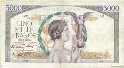 5000 Francs VICTOIRE Impression à plat FRANCE  1939 F.46.06 TB