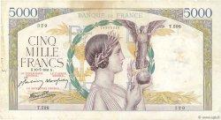 5000 Francs VICTOIRE Impression à plat FRANCE  1941 F.46.23 TB