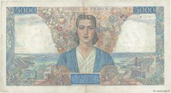 5000 Francs EMPIRE FRANÇAIS FRANCE  1945 F.47.16 TTB