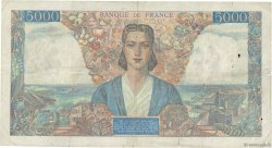 5000 Francs EMPIRE FRANÇAIS FRANCE  1945 F.47.42 TB