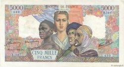 5000 Francs EMPIRE FRANÇAIS FRANCE  1945 F.47.46 SUP