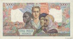 5000 Francs EMPIRE FRANÇAIS FRANCE  1946 F.47.50 TB
