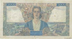 5000 Francs EMPIRE FRANÇAIS FRANCE  1946 F.47.51 TB