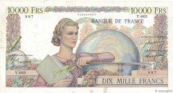 10000 Francs GÉNIE FRANÇAIS FRANCE  1950 F.50.28 pr.TTB