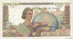 10000 Francs GÉNIE FRANÇAIS FRANCE  1952 F.50.59 TB