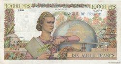 10000 Francs GÉNIE FRANÇAIS FRANCE  1953 F.50.63 TB+