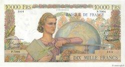 10000 Francs GÉNIE FRANÇAIS FRANCE  1954 F.50.71 SUP