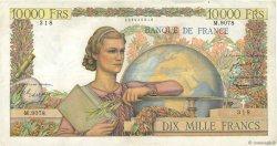 10000 Francs GÉNIE FRANÇAIS FRANCE  1955 F.50.75 TB+