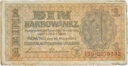 1 Karbowanez UKRAINE  1942 P.049 TB