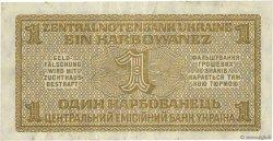 1 Karbowanez UKRAINE  1942 P.049 TTB