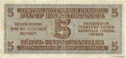 5 Karbowanez UKRAINE  1942 P.051 TB+