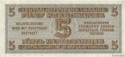 5 Karbowanez UKRAINE  1942 P.051 SUP+