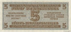 5 Karbowanez UKRAINE  1942 P.051 pr.NEUF