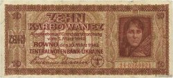 10 Karbowanez UKRAINE  1942 P.052 TB
