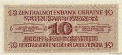 10 Karbowanez UKRAINE  1942 P.052 NEUF