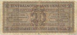 20 Karbowanez UKRAINE  1942 P.053 B