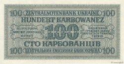 100 Karbowanez UKRAINE  1942 P.055 NEUF