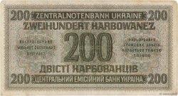 200 Karbowanez UKRAINE  1942 P.056 TB