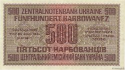500 Karbowanez UKRAINE  1942 P.057 SUP+