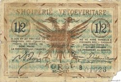 0,50 Franc ALBANIE  1917 PS.143a B