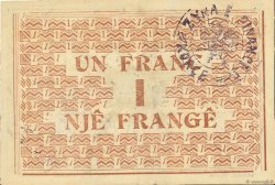 1 Franc ALBANIE  1917 PS.144a TTB+