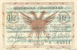 0,50 Franc ALBANIE  1917 PS.145c TTB+