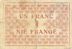 1 Franc ALBANIE  1917 PS.146a TB