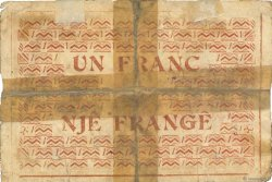 1 Franc ALBANIE  1917 PS.146a/b AB