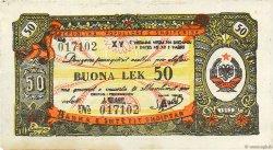 50 Lek ALBANIE  1953 P.FX07 SUP